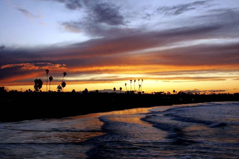 Sunrise in Oceanside California - © Simpson Brothers Photography