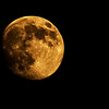 The color in tonights moon was just too good to miss!<br /> October 20th, 2010 in Tracy - © Simpson Brothers Photography