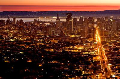 Good Morning San Francisco! - © Simpson Brothers Photography