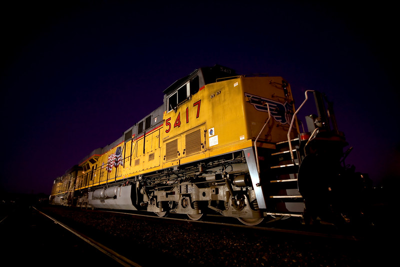 Union Pacific 5417 GE ES44AC<br /> Tracy, California 7/20/11 - © Simpson Brothers Photography