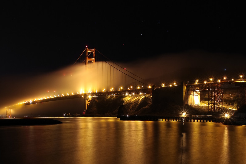 Midnight at the Golden Gate - © Simpson Brothers Photography