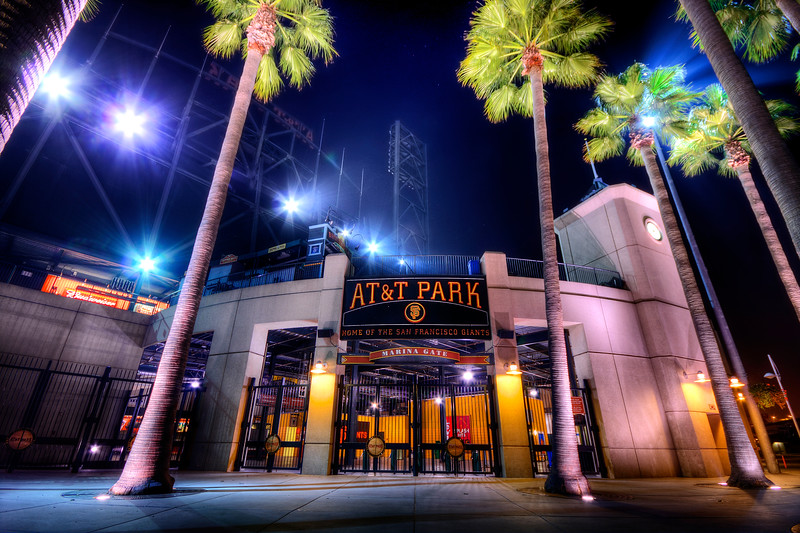 AT&T Park - Home of the San Francisco Giants - © Simpson Brothers Photography