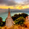 Bay Bridge Sunset - © Simpson Brothers Photography