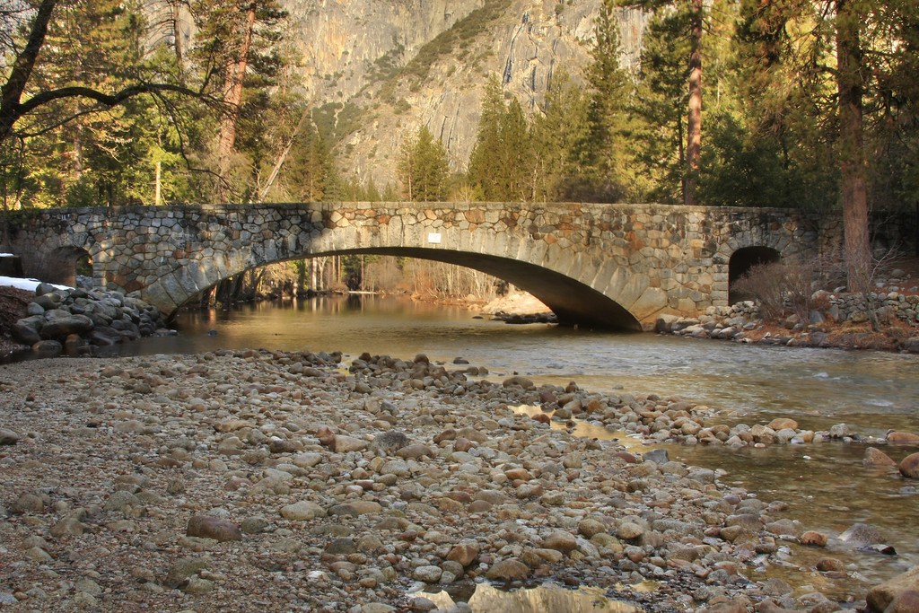 Bridge over the Merced River in Yosemite National Park California - © Simpson Brothers Photography