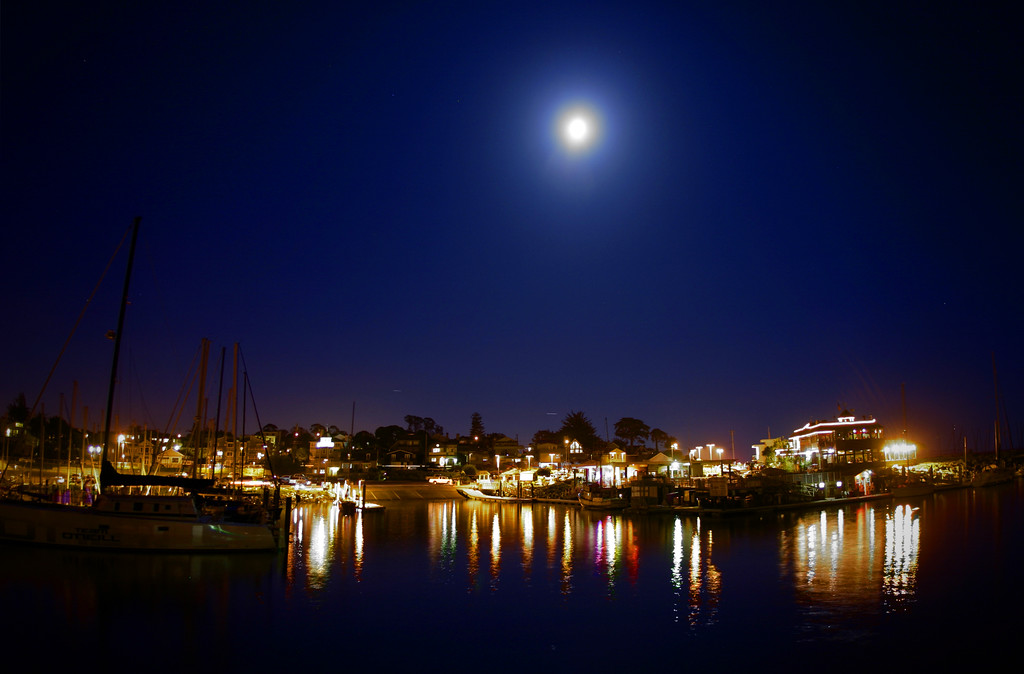 The Yacht Harbor in Santa Cruz California - © Simpson Brothers Photography