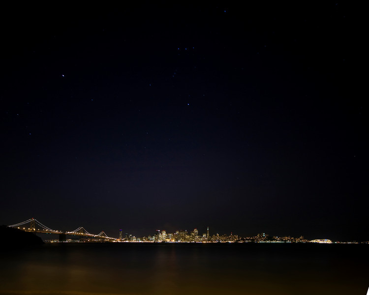 Orion over San Francisco - © Simpson Brothers Photography