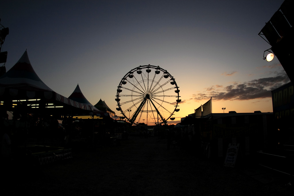 Sunset at the Fair - © Simpson Brothers Photography