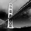 Golden Gate Bridge from a boat in the bay, San Francisco California - © Simpson Brothers Photography