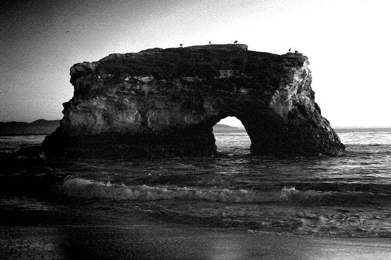Sunset at Natural Bridges State Park in Santa Cruz California - © Simpson Brothers Photography