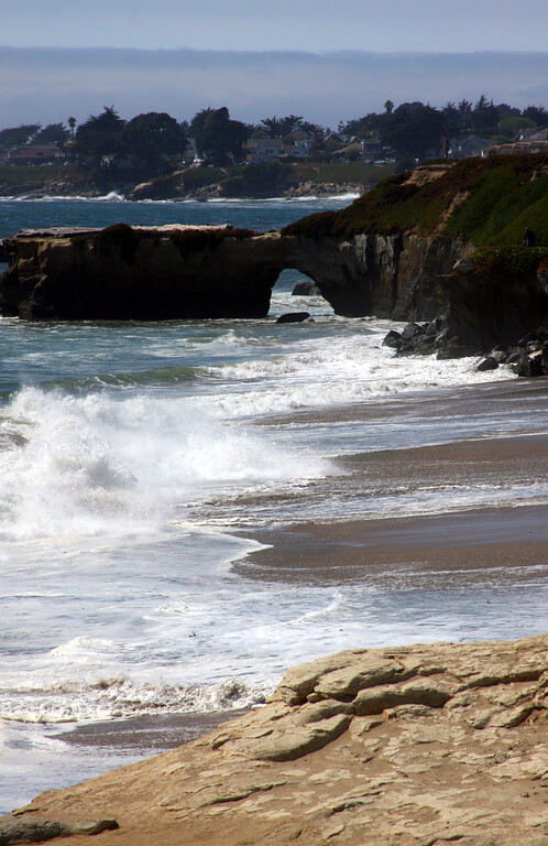 "Natural Bridge at ""It's"" beach in Santa Cruz California - © Simpson Brothers Photography"