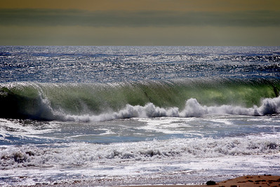 "Wave crashing at ""It's"" beach in Santa Cruz California - © Simpson Brothers Photography"