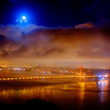 Golden Gate Moonrise - © Simpson Brothers Photography