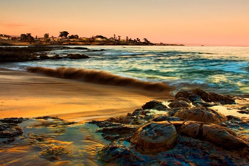 Santa Cruz at Sunset