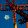 Sutro Tower Moonset at Sunrise - © Simpson Brothers Photography