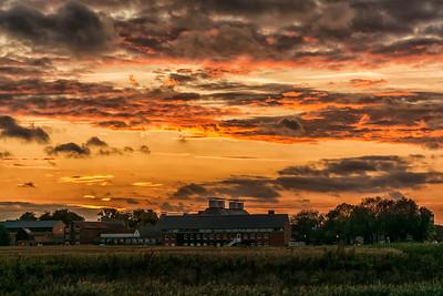 Snape Sunset
