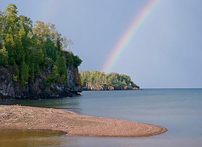 Rainbow on Gooseberry River 002