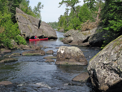 Little Saganaga Portage