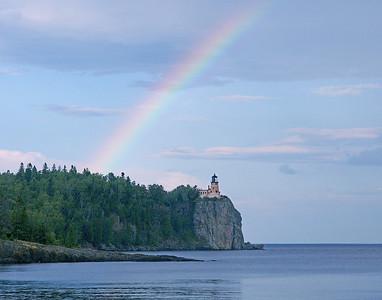 Rainbow Over Split Rock 001