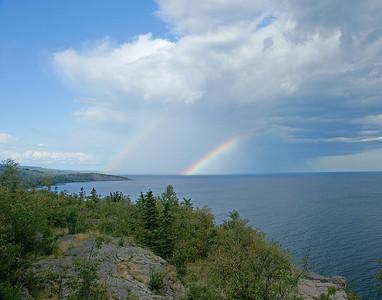 Rainbow Over Shovel Point 001