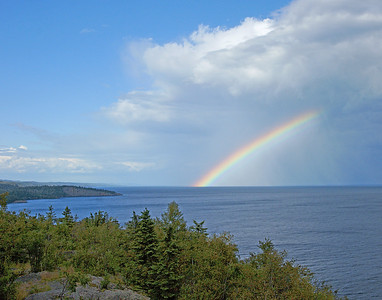 Rainbow Over Shovel Point 002