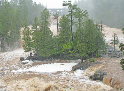 Gooseberry River Flood Stage 1