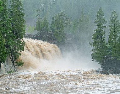 Gooseberry River Flood Stage 2