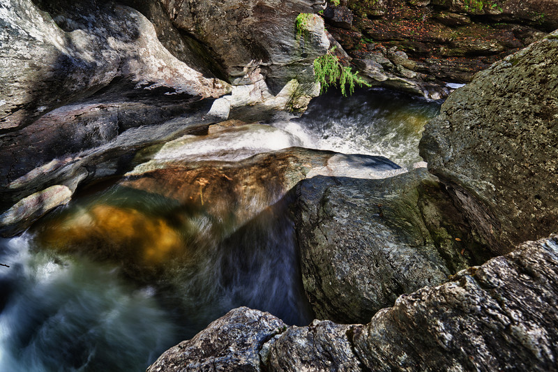 Bingham's Falls - Early Afternoon, September 19, 2012