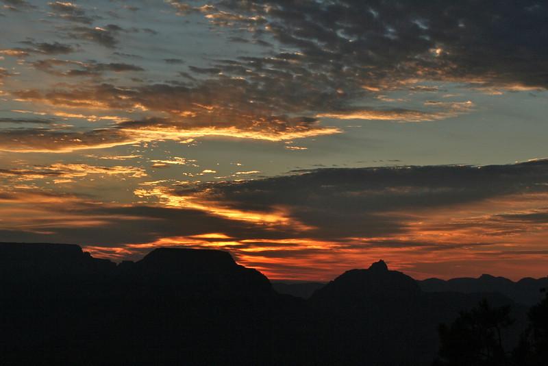 Grand Canyon sunset, Aug 2011