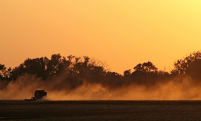 Kansas Field Sunset