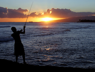 7704 Sunset Fishing
