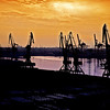 The Port of St. Petersburg, Russia (Sunrise)