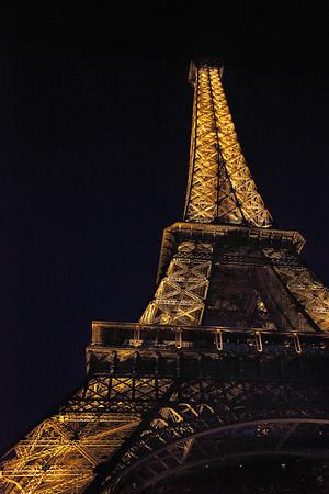 Eiffel Tower - at night