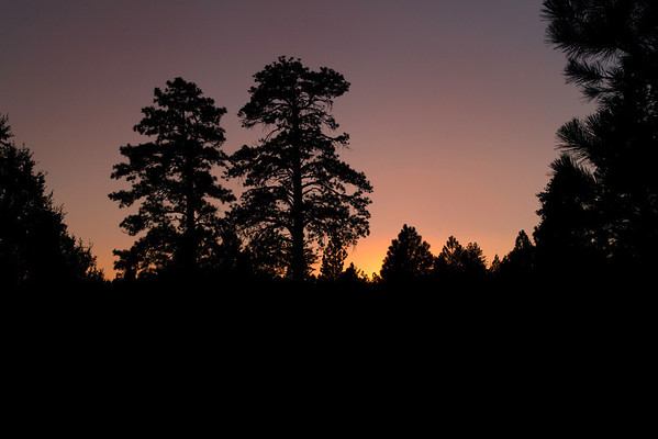 Evening Sunset at the Best Western - Bryce Canyon