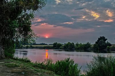 Sacrament River Sunrise 1
