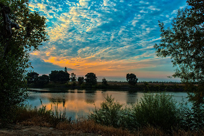 Sacramento River Sunrise 3