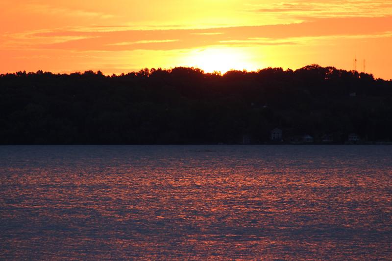 Sunrise - Cayuga Lake