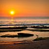 Sandpiper Pose - Canova Beach Sunrise
