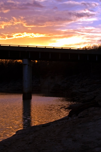 """Lick Creek Sunset #2 - March 4th, 2005"""