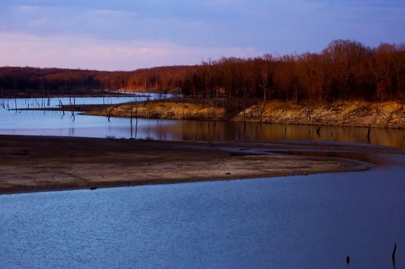 Lick Creek Sunset On Mark Twain Lake - #1a