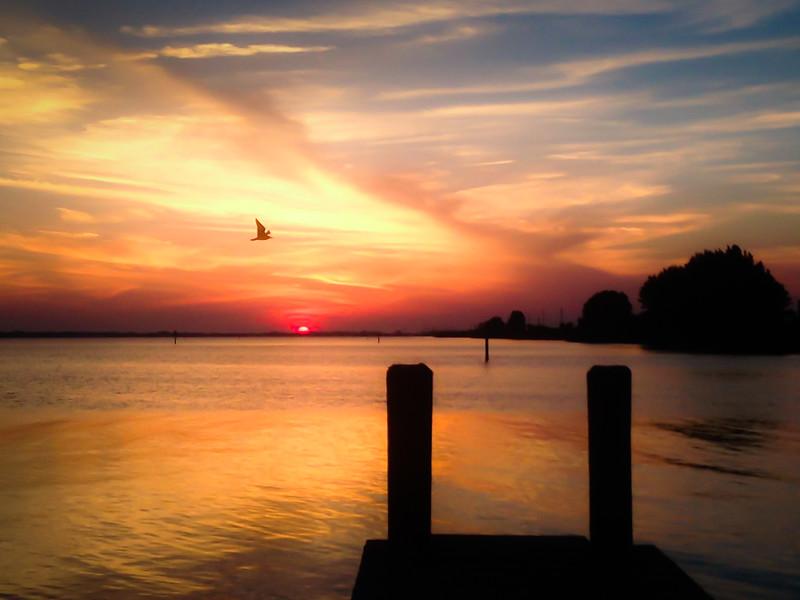 Banana River Sunset ~ Merritt Island, Florida ~ Sunset Bar & Grill