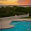 Pool & River Postcard Perfect