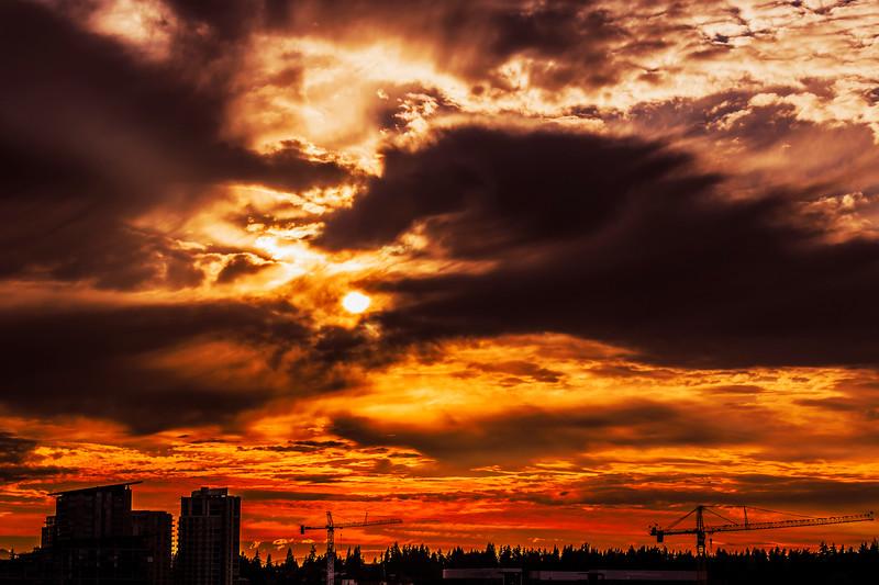 Pacific Northwest Summer Sunset