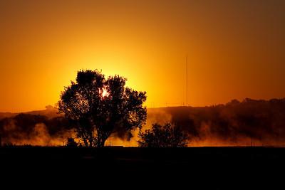 Nightime Evaporates (Shawnee, KS)