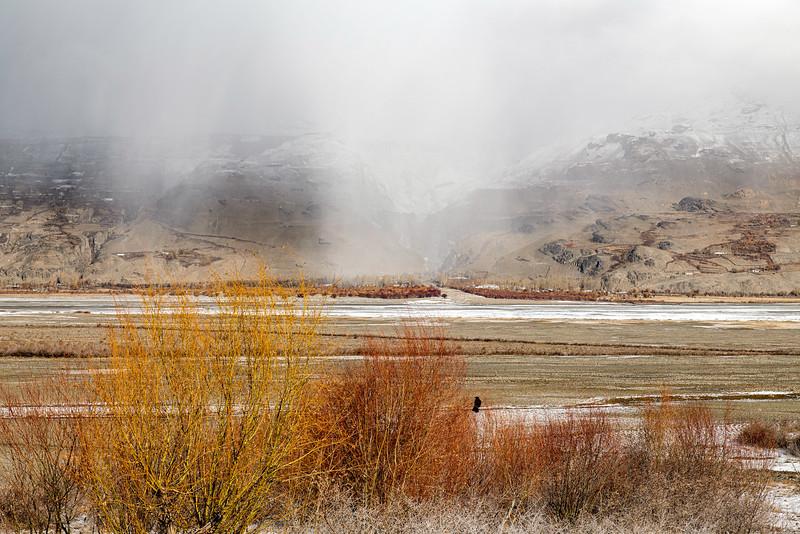 View over the Tajik Border