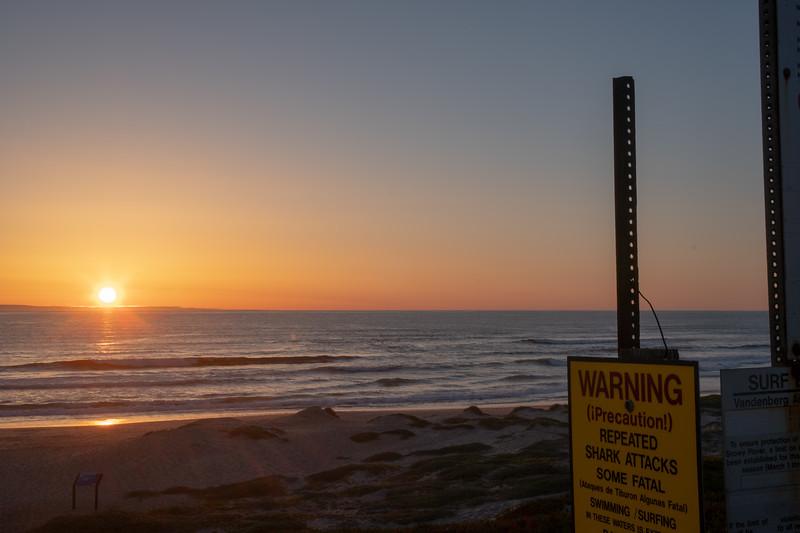 Sunset at Surf Beach