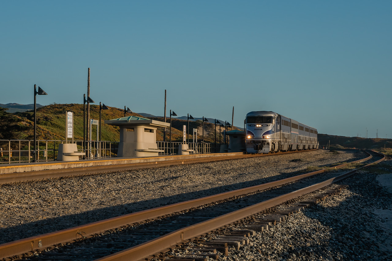 Amtrak Station at Surf Beach