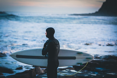 Cold Water Surfer