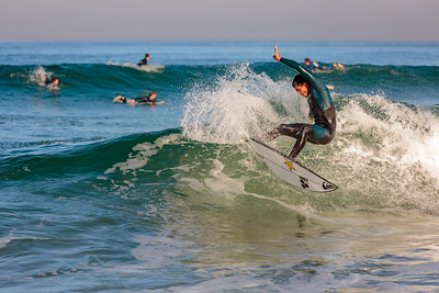 Zeke Lau Surfing in France
