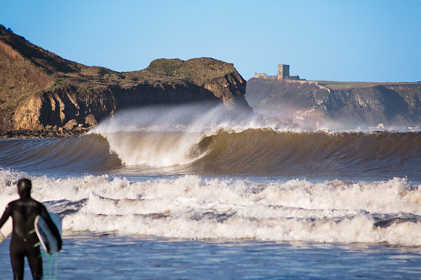 This is Surfing on the East Coast of England