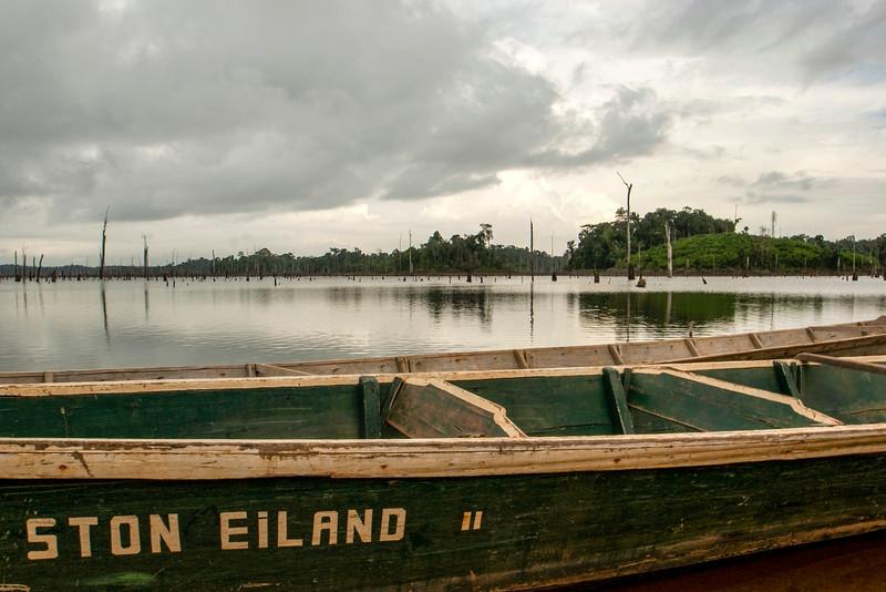 Suriname - Brokopondostuwmeer | Ston EIland - 2010